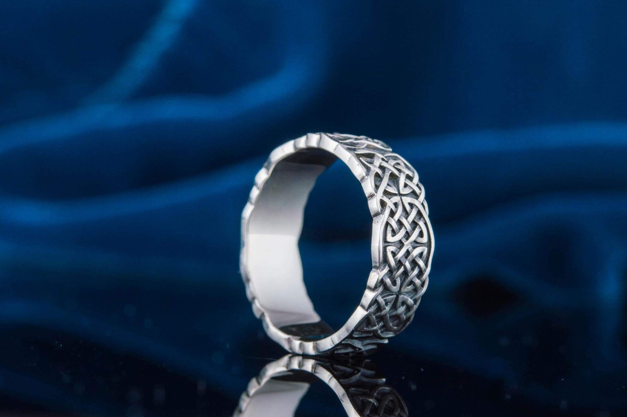Rings Viking Celtic Knot Ornament Sterling Silver Ring Ancient Treasures Ancientreasures Viking Odin Thor Mjolnir Celtic Ancient Egypt Norse Norse Mythology
