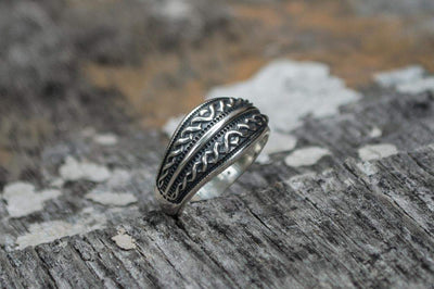 Rings Viking Unique Twisted Ornament Sterling Silver Ring Ancient Treasures Ancientreasures Viking Odin Thor Mjolnir Celtic Ancient Egypt Norse Norse Mythology