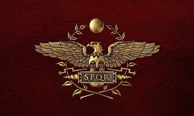 Ancient Roman Empire Flag