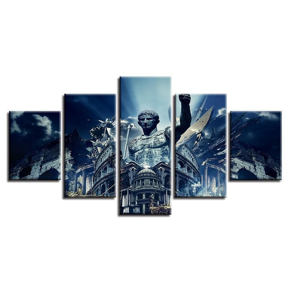9308916f5 Small / No Frame Ancient Rome Colosseum Wall Art