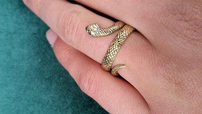 Snake Tribal Ring