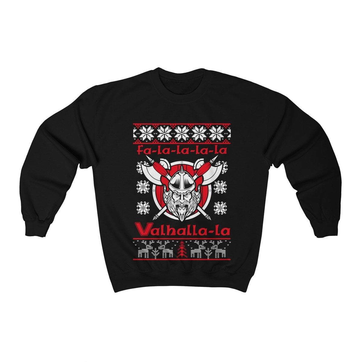 Unisex Viking Berserker Fa-La-La Valhalla Christmas Holiday Sweater