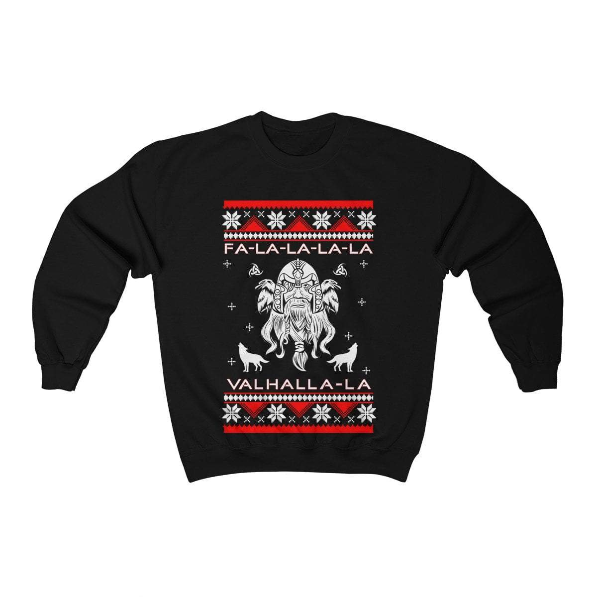 Unisex Viking Odin Fa-La-La Valhalla Christmas Holiday Sweater
