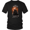 T-shirt District Unisex Shirt / Black / S I was a Wolf and She My Moon Norse Design