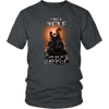 T-shirt District Unisex Shirt / Charcoal / S I was a Wolf and She My Moon Norse Design