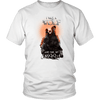 T-shirt District Unisex Shirt / White / S I was a Wolf and She My Moon Norse Design