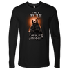 T-shirt Next Level Mens Long Sleeve / Black / S I was a Wolf and She My Moon Norse Design