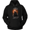 T-shirt Unisex Hoodie / Black / S I was a Wolf and She My Moon Norse Design