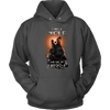 T-shirt Unisex Hoodie / Charcoal / S I was a Wolf and She My Moon Norse Design
