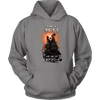 T-shirt Unisex Hoodie / Grey / S I was a Wolf and She My Moon Norse Design