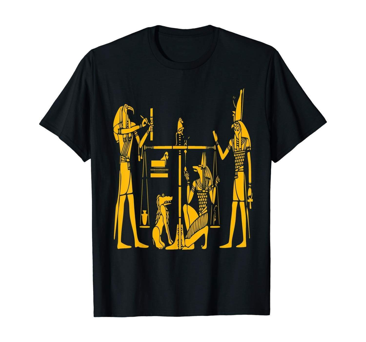 T-Shirts Ancient Egyptian Hieroglyph Pharaoh God T-Shirts Ancient Treasures Ancientreasures Viking Odin Thor Mjolnir Celtic Ancient Egypt Norse Norse Mythology
