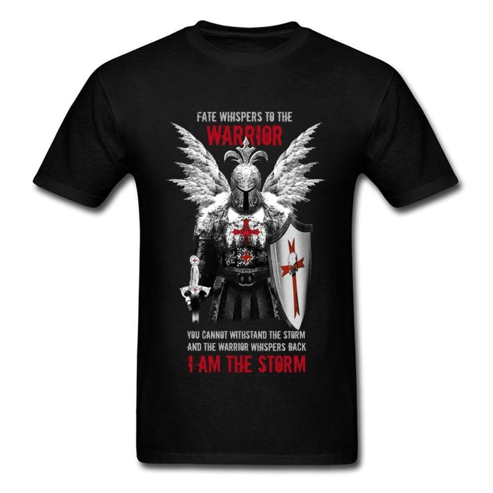 Templar Black / S Templar Warrior Knights T-Shirt