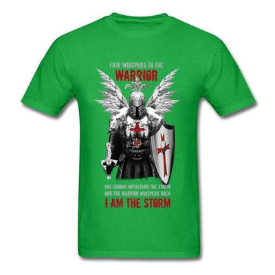 Templar Green / S Templar Warrior Knights T-Shirt