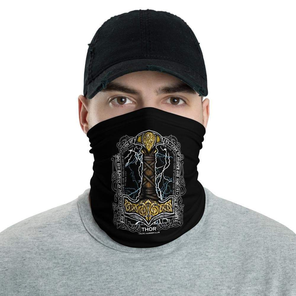 'Thor Odinson' by Celtic Hammer Club Face Bandana