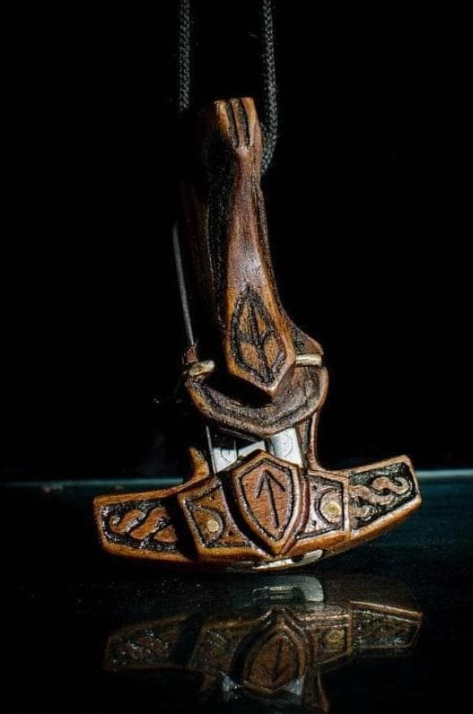 Traditional & Ceremonial Accessory Vikings Thor Jews Harp - The Power of Ancestors Ancient Treasures Ancientreasures Viking Odin Thor Mjolnir Celtic Ancient Egypt Norse Norse Mythology