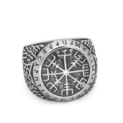 Viking 8 Viking Compass Ring