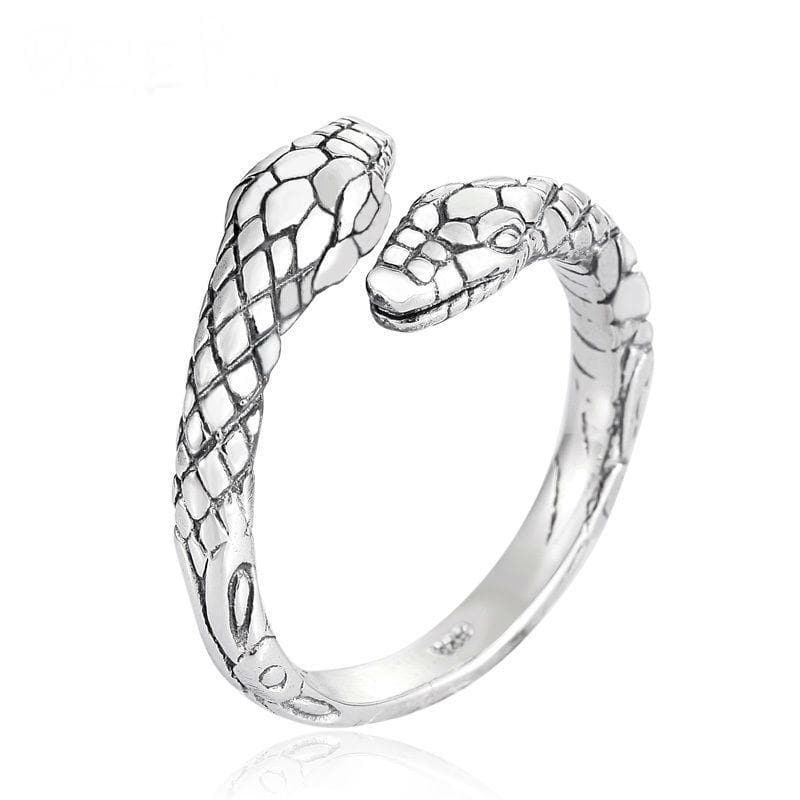 925 Sterling Silver Viking Jörmungandr Ring