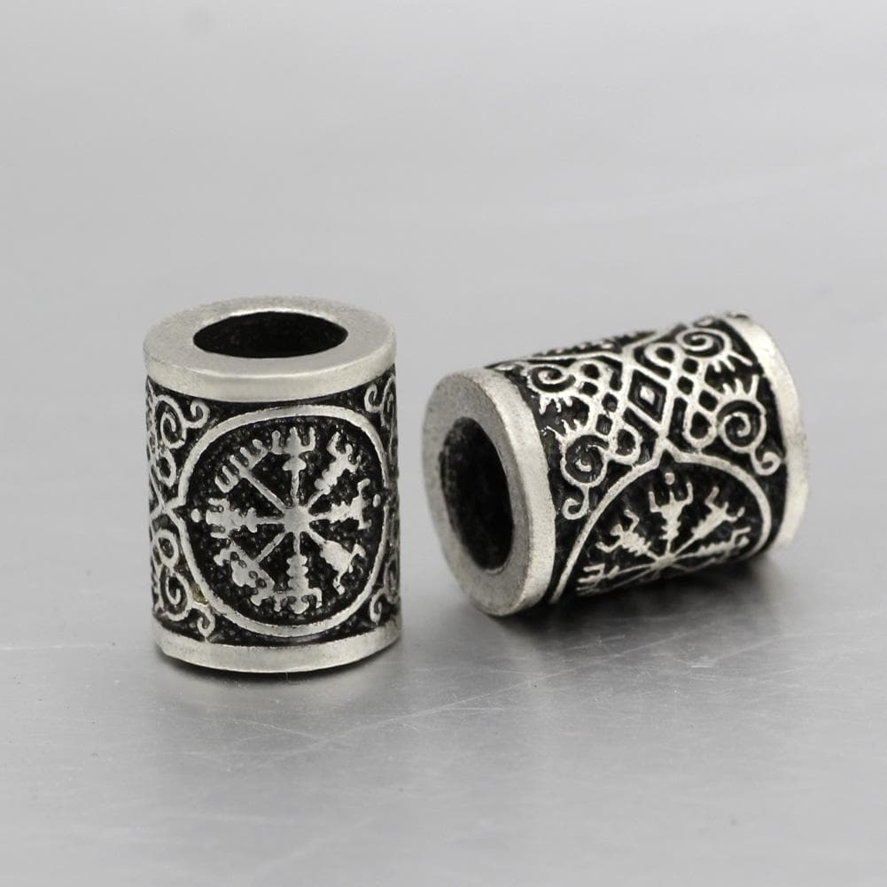 Vegvisir Stainless Steel Beads