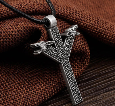 Viking Algiz-rune Viking Necklace Ancient Treasures Ancientreasures Viking Odin Thor Mjolnir Celtic Ancient Egypt Norse Norse Mythology