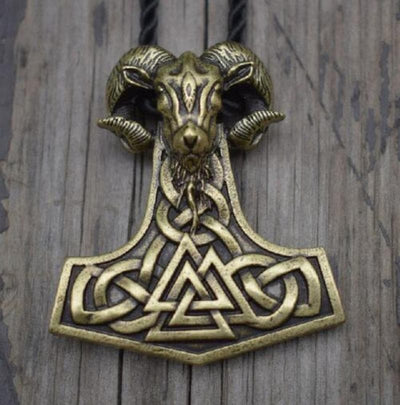 Viking Antique Bronze Mjolnir Goat Necklace Ancient Treasures Ancientreasures Viking Odin Thor Mjolnir Celtic Ancient Egypt Norse Norse Mythology