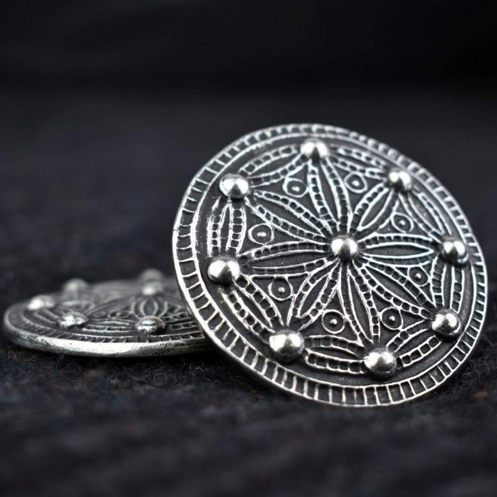 Viking Borre Style Medium York Disc Pewter Brooch Ancient Treasures Ancientreasures Viking Odin Thor Mjolnir Celtic Ancient Egypt Norse Norse Mythology