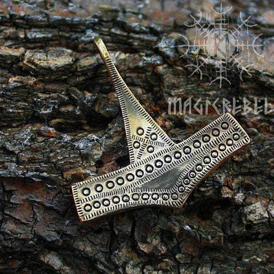 Viking Bronze Handmade Mjolnir Pendant Necklace Ancient Treasures Ancientreasures Viking Odin Thor Mjolnir Celtic Ancient Egypt Norse Norse Mythology