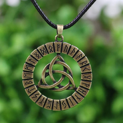Viking Bronze Triquetra Viking Pendant Necklace Ancient Treasures Ancientreasures Viking Odin Thor Mjolnir Celtic Ancient Egypt Norse Norse Mythology