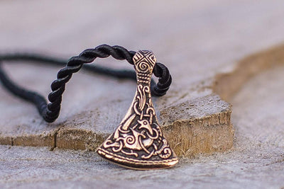 Viking Bronze Viking Axe Pendant Ancient Treasures Ancientreasures Viking Odin Thor Mjolnir Celtic Ancient Egypt Norse Norse Mythology