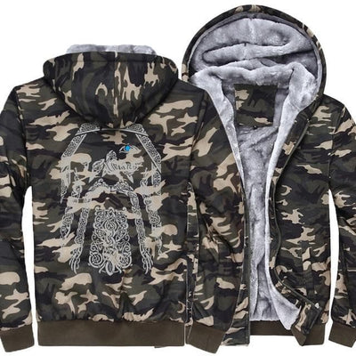 Viking Camouflage / M Odin Vikings Hoodie Ancient Treasures Ancientreasures Viking Odin Thor Mjolnir Celtic Ancient Egypt Norse Norse Mythology