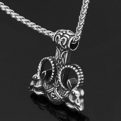 Viking Default Title Norse Mythology Viking Creature Necklace