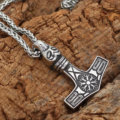 Viking Default Title Stainless Steel Norse Mythology Thor's Hammer