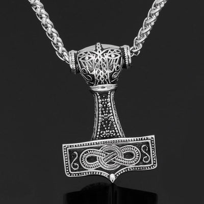 Viking Default Title Stainless Steel Thor Mjolnir Necklace