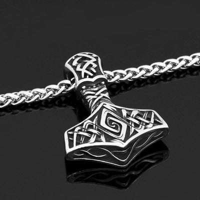Viking Default Title Stainless Steel Viking Axe Necklace