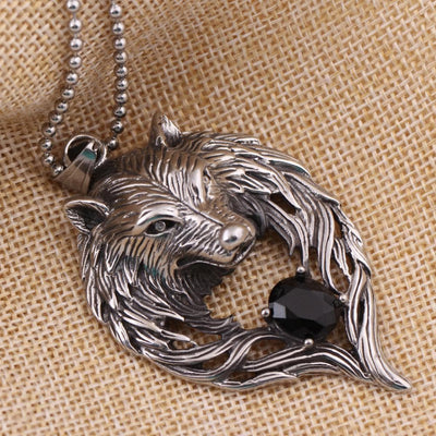 Viking Fenrir's Jewel Necklace Ancient Treasures Ancientreasures Viking Odin Thor Mjolnir Celtic Ancient Egypt Norse Norse Mythology