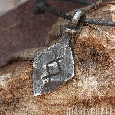 Viking Forged Iron Othala Rune Viking Amulet Ancient Treasures Ancientreasures Viking Odin Thor Mjolnir Celtic Ancient Egypt Norse Norse Mythology