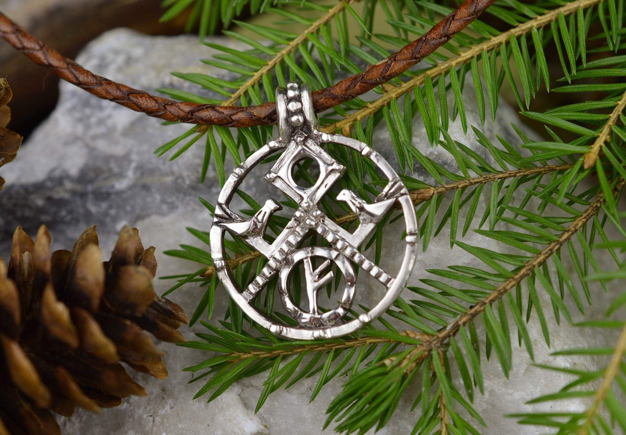 Viking Goddess Frigg Symbol Handmade Pendant Amulet Ancient Treasures Ancientreasures Viking Odin Thor Mjolnir Celtic Ancient Egypt Norse Norse Mythology