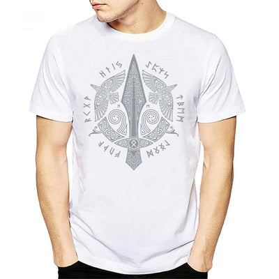 Viking Gungnir, The Spear of Odin T-Shirt Ancient Treasures Ancientreasures Viking Odin Thor Mjolnir Celtic Ancient Egypt Norse Norse Mythology