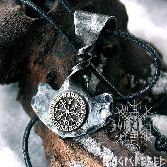 Viking Handmade Forged Iron Twisted Mjolnir Bronze Necklace Ancient Treasures Ancientreasures Viking Odin Thor Mjolnir Celtic Ancient Egypt Norse Norse Mythology