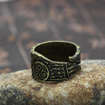 Viking Huginn and Munnin Nordic Ring Ancient Treasures Ancientreasures Viking Odin Thor Mjolnir Celtic Ancient Egypt Norse Norse Mythology