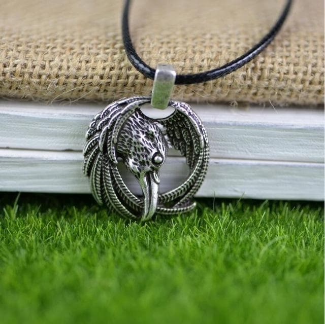 The Raven of Odin Necklace
