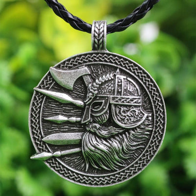 Viking Nordic Viking Warrior Necklace Ancient Treasures Ancientreasures Viking Odin Thor Mjolnir Celtic Ancient Egypt Norse Norse Mythology