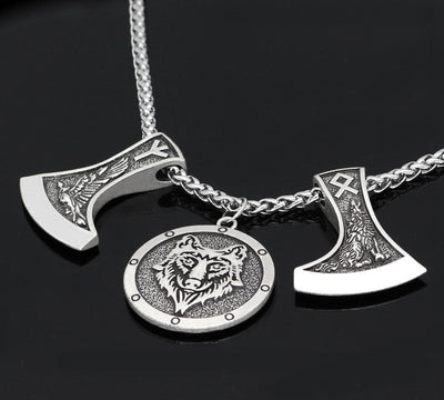 Viking Odinn Allfather's Animals Rune Necklace Ancient Treasures Ancientreasures Viking Odin Thor Mjolnir Celtic Ancient Egypt Norse Norse Mythology