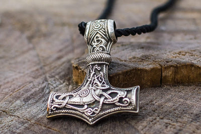 Viking Sterling Silver Huge Mjolnir Pendant Ancient Treasures Ancientreasures Viking Odin Thor Mjolnir Celtic Ancient Egypt Norse Norse Mythology