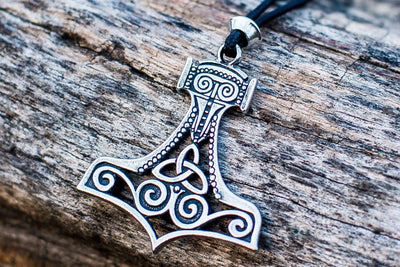 Viking Sterling Silver Mjolnir Pendant Ancient Treasures Ancientreasures Viking Odin Thor Mjolnir Celtic Ancient Egypt Norse Norse Mythology