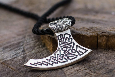 Viking Sterling Silver Viking Axe Pendant Ancient Treasures Ancientreasures Viking Odin Thor Mjolnir Celtic Ancient Egypt Norse Norse Mythology