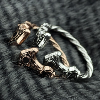 Viking Thor's Hammer Bracelet Ancient Treasures Ancientreasures Viking Odin Thor Mjolnir Celtic Ancient Egypt Norse Norse Mythology