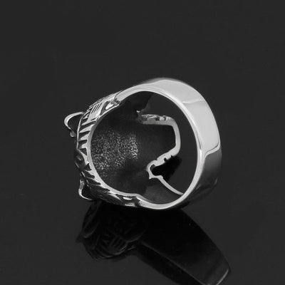 Viking US 9 Stainless Steel Berserker Viking Ring