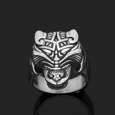 Viking US9 Stainless Steel Viking Bear Ring