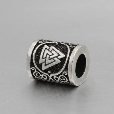 Viking Valknut Stainless Steel Bead Ancient Treasures Ancientreasures Viking Odin Thor Mjolnir Celtic Ancient Egypt Norse Norse Mythology