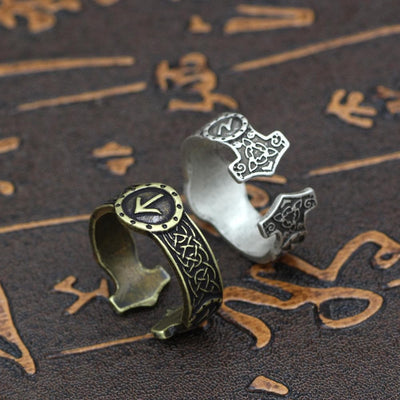 Viking Viking Elder Futhark Rune Ring Ancient Treasures Ancientreasures Viking Odin Thor Mjolnir Celtic Ancient Egypt Norse Norse Mythology